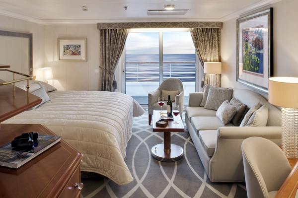 Crystal Symphony Deluxe Cruises
