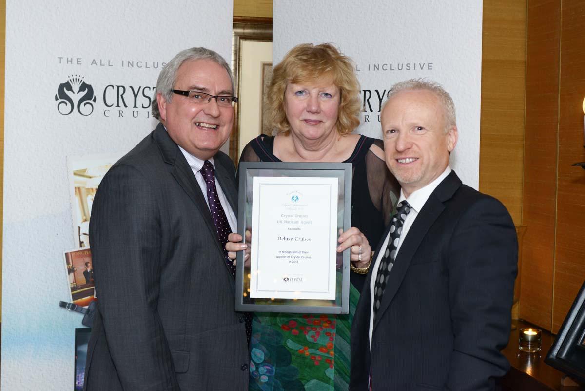 Crystal Cruises Agents Awards.