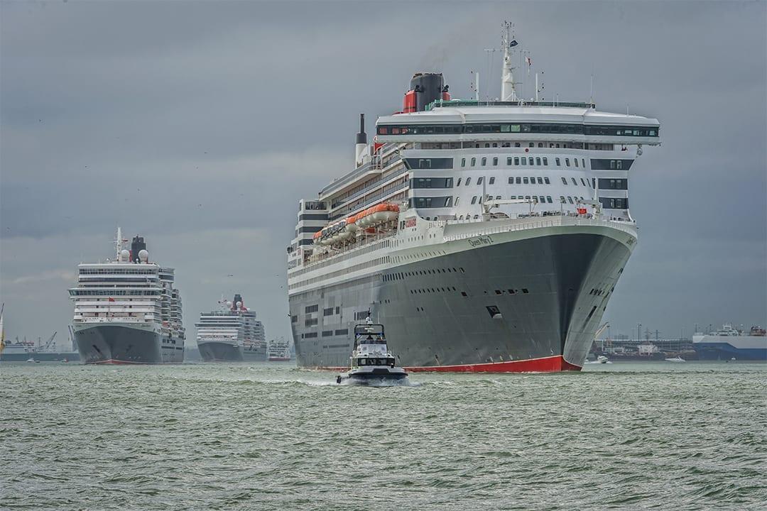 Cunard 3 Queens Southampton