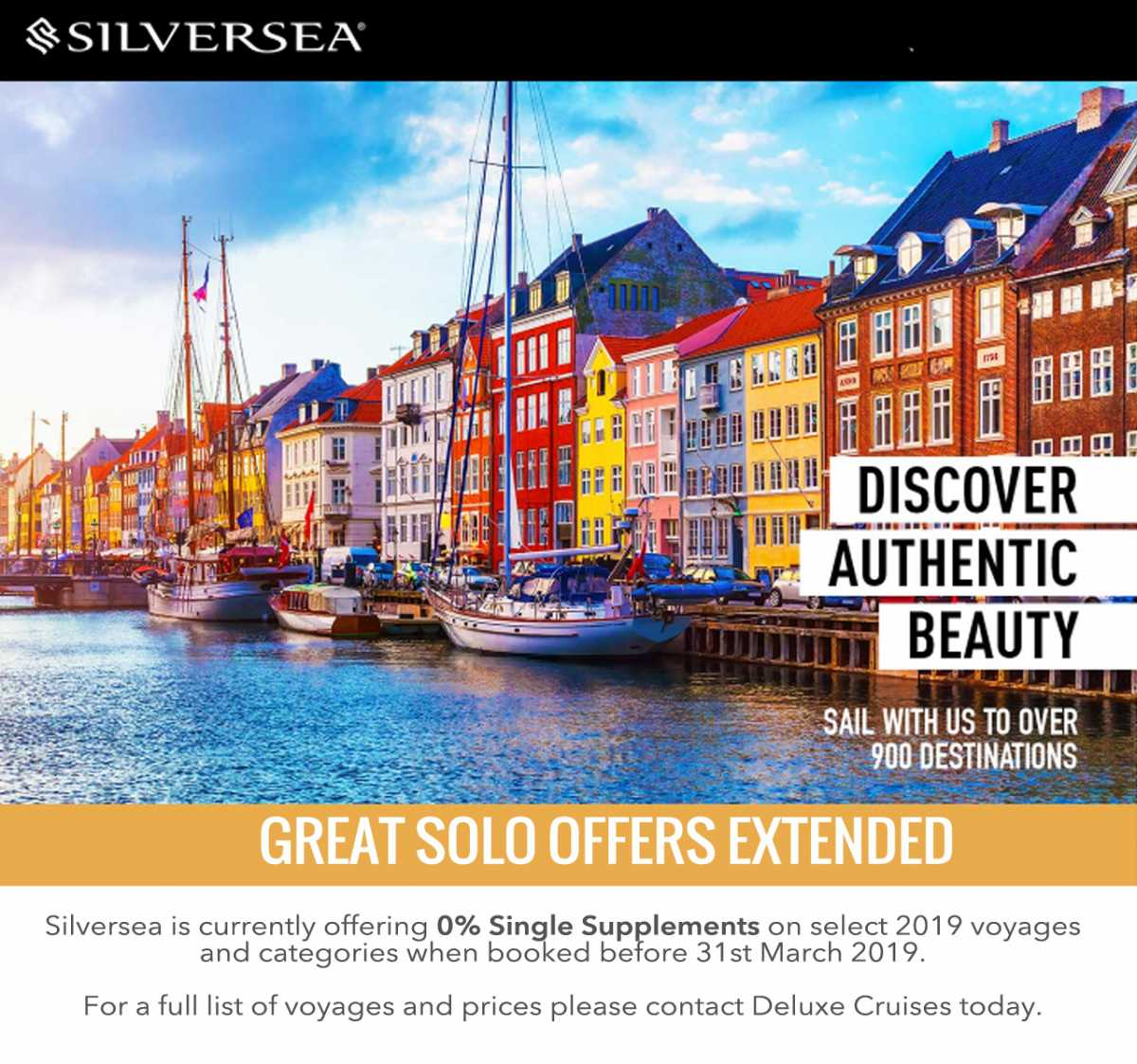 Silversea Cruises Solo offers